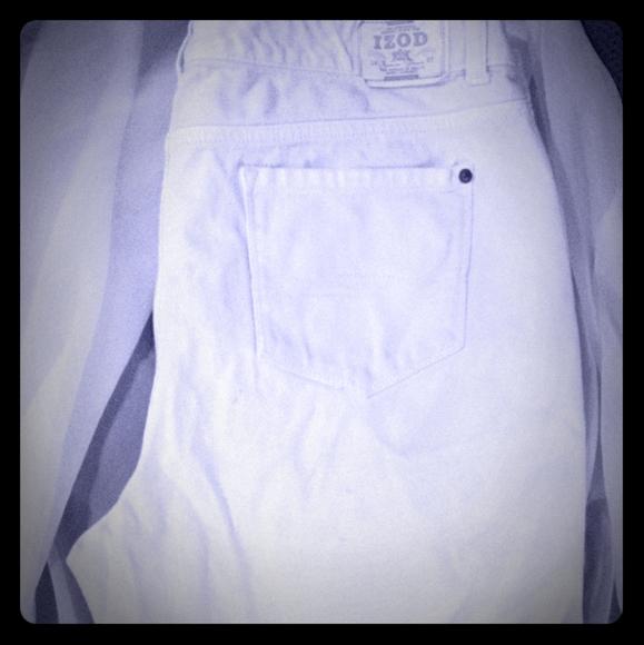 Izod Pants - 👸Izod White Shorts.